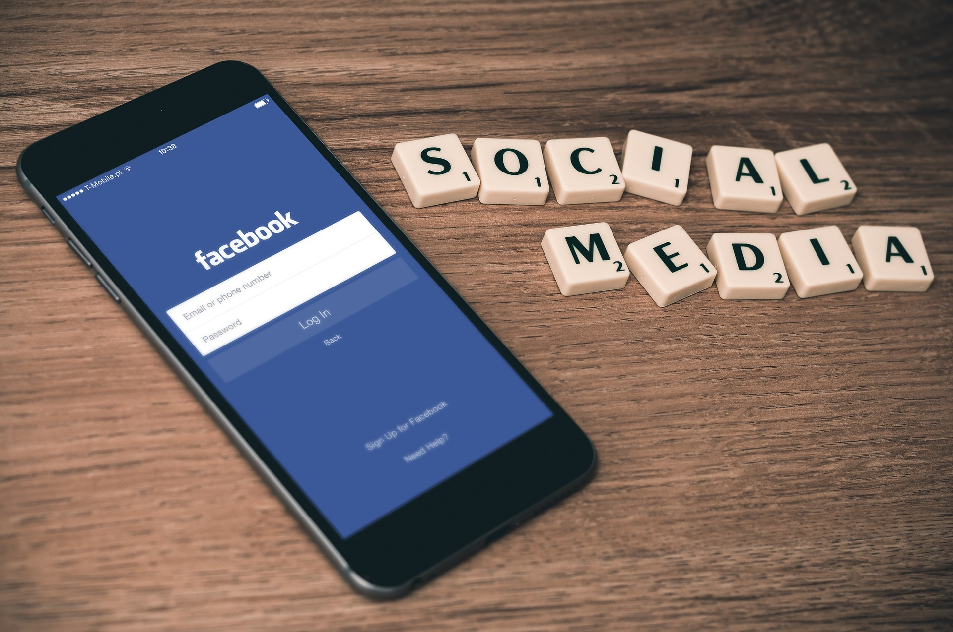 Facebook and social media letters
